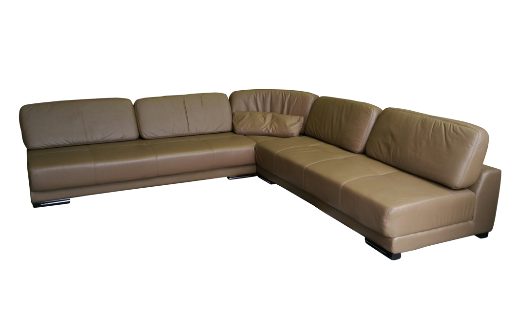 voll leder ecksofa sofa garnitur eckgruppe 5042 1106 300 sofort ebay. Black Bedroom Furniture Sets. Home Design Ideas