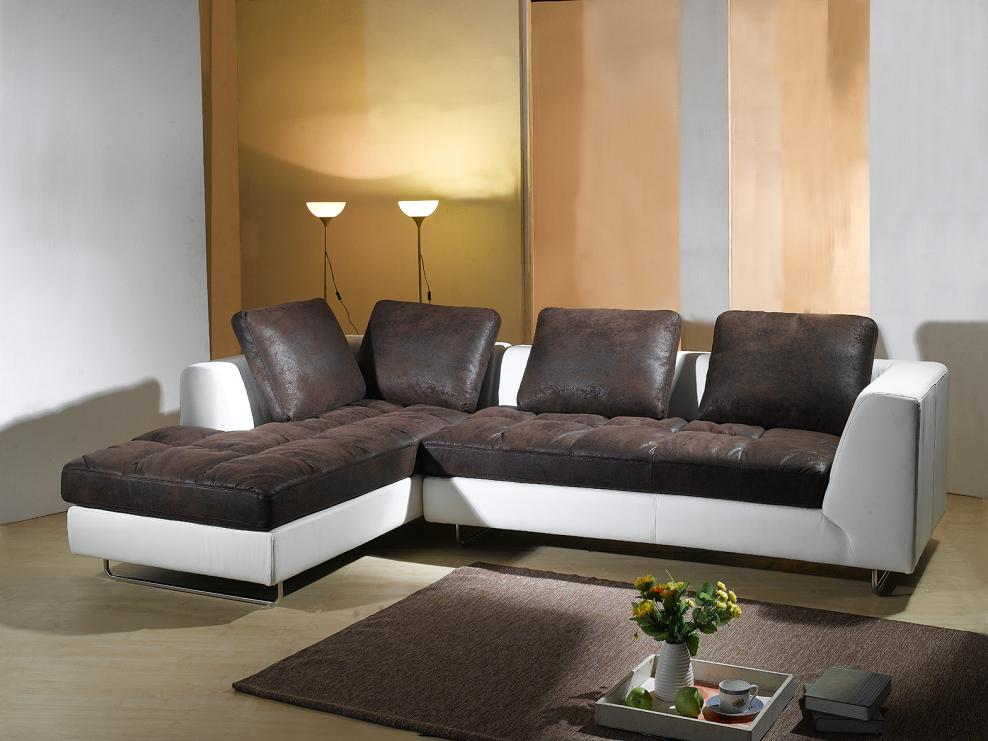 angebot microfaser ecksofa sofa couch garnitur 5059 l sofort ebay. Black Bedroom Furniture Sets. Home Design Ideas