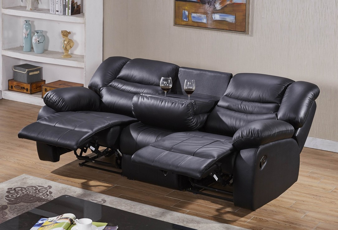 voll leder fernsehsessel relaxsofa sofa relaxsessel mit. Black Bedroom Furniture Sets. Home Design Ideas