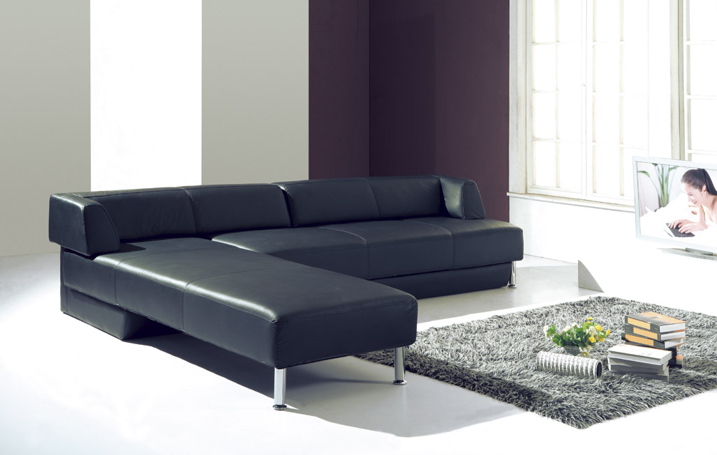 design schlafsofa schlafcouch voll leder bett sofa. Black Bedroom Furniture Sets. Home Design Ideas