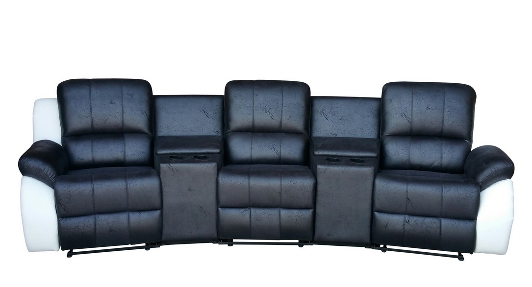 sofa kinosofa relaxcouch fernsehsofa recliner heimkino 5129 cup 3 ms w sofort ebay. Black Bedroom Furniture Sets. Home Design Ideas
