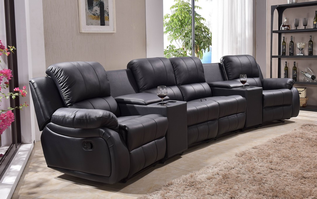 leder fernsehsessel relaxsofa sofa kinosofa heimkino 5129. Black Bedroom Furniture Sets. Home Design Ideas