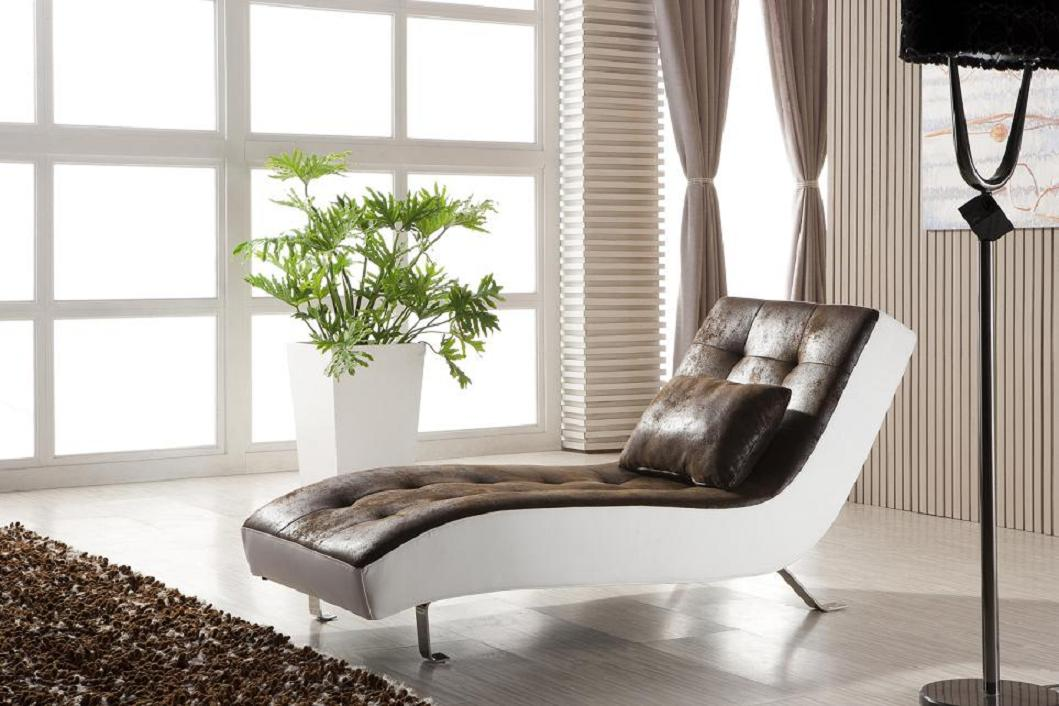 leder look relax liege recamiere lounge relaxliege chaiselongue 516 m pu ebay. Black Bedroom Furniture Sets. Home Design Ideas