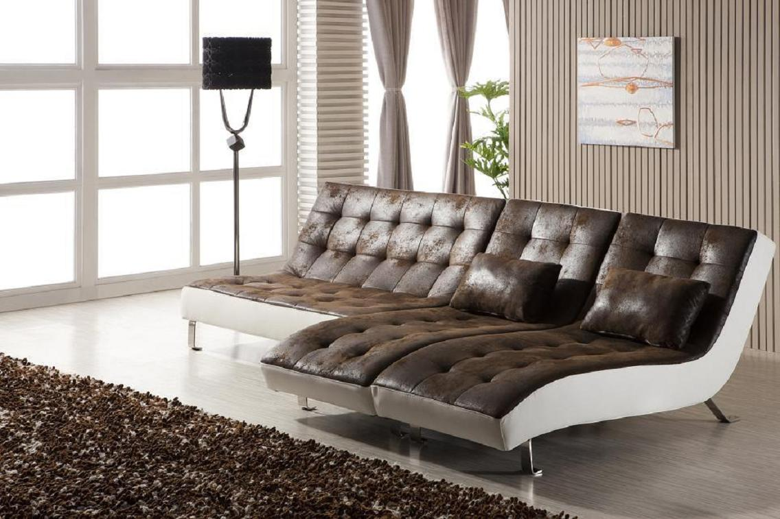 doppel relax liege u sofa recamiere chaiselongue relaxliege 516 mu pu ebay. Black Bedroom Furniture Sets. Home Design Ideas