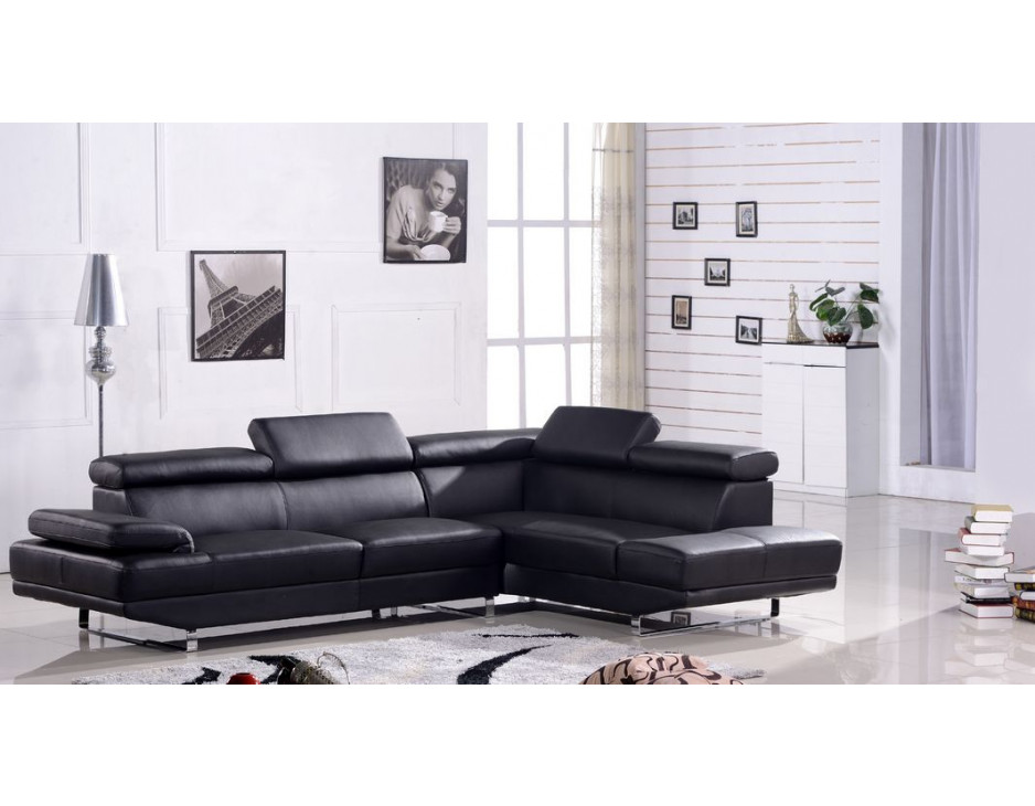 ecksofa schwarz eckcouch mit federkern 2020 rs mapo m bel. Black Bedroom Furniture Sets. Home Design Ideas