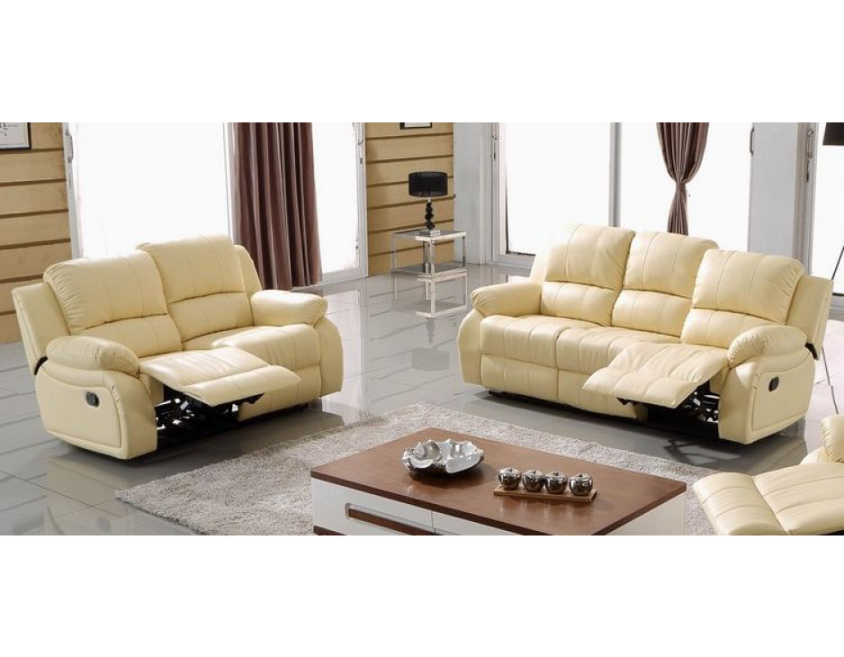 leder fernsehsofas beige 5129 3 2 317 sofort mapo m bel. Black Bedroom Furniture Sets. Home Design Ideas
