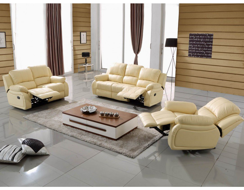 leder fernsehsofas beige 5129 3 2 1 317 sofort mapo m bel. Black Bedroom Furniture Sets. Home Design Ideas
