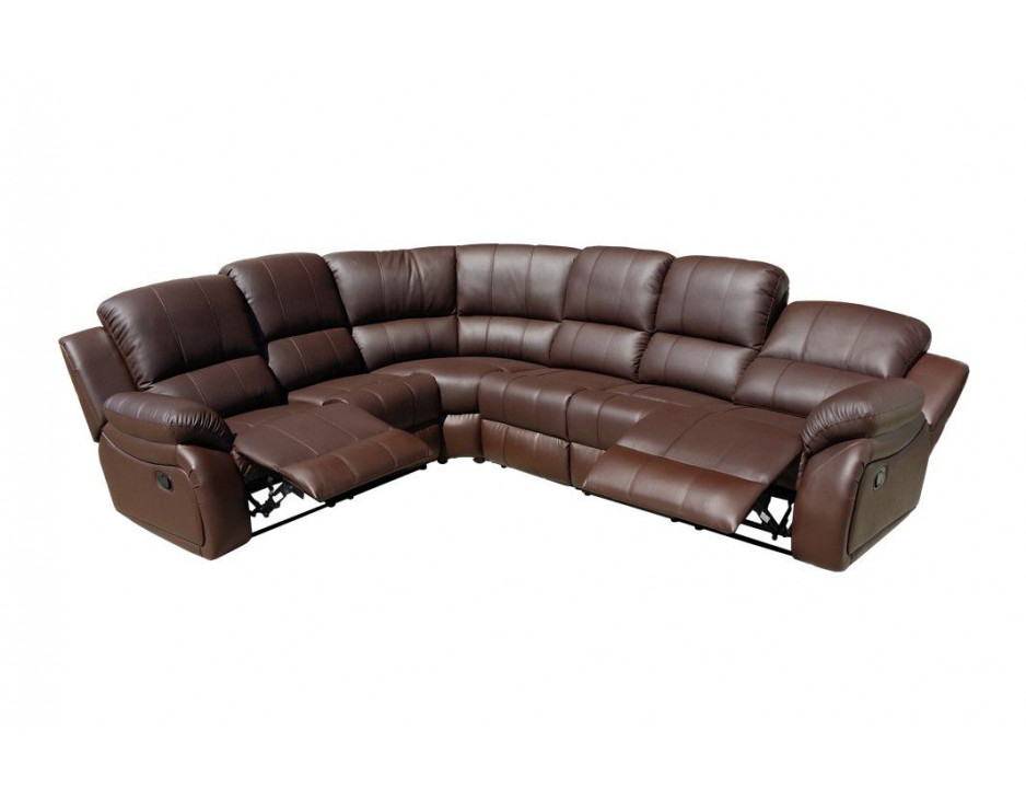 eck fernsehsofa ecksofa eckcouch braun c5129 l377 mapo m bel. Black Bedroom Furniture Sets. Home Design Ideas