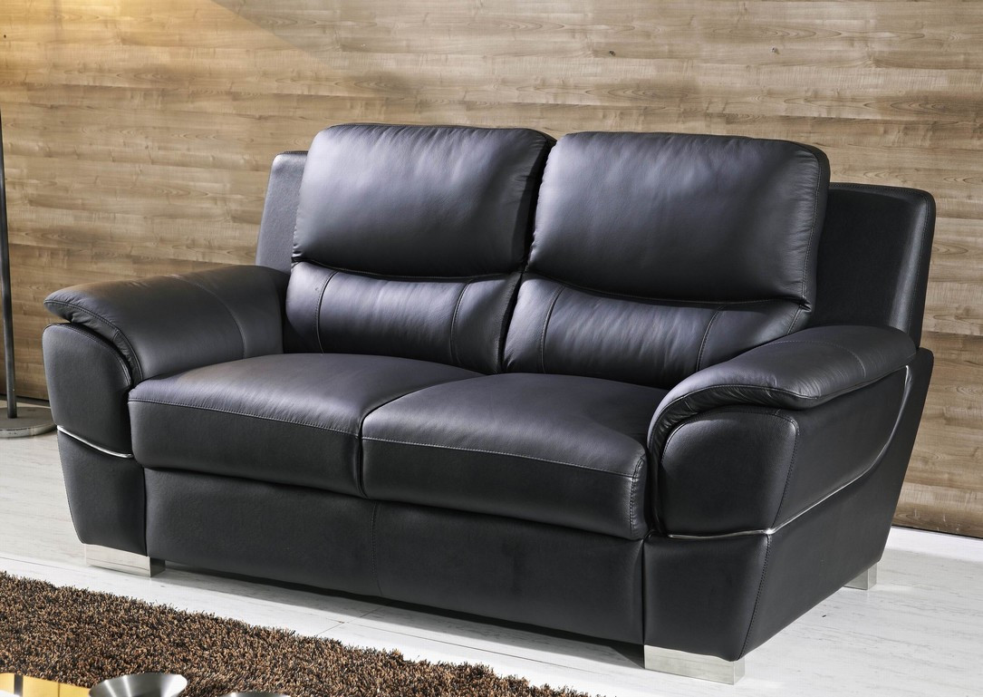 ledersofa 2 sitzer schwarz beautiful heimkino sofa sitzer. Black Bedroom Furniture Sets. Home Design Ideas