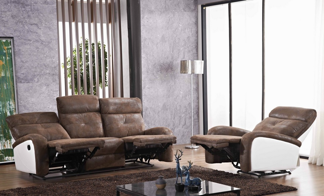 mikrofaser fernsehsofas braun wei sofort lieferbar mapo m bel. Black Bedroom Furniture Sets. Home Design Ideas