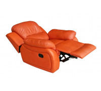Ledersessel in terracotta 5129-1-477 sofort