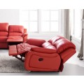 Ledersessel in rot 5129-1-8401 sofort