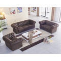 brauner Mikrofaser Sessel Chesterfield-1-VF03 sofort